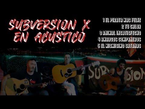 🔥 SUBVERSION X 🔥 acústico 2020 #subversionx #acustico #rockanimal
