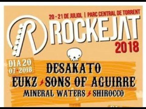 EUKZ El Ultimo Ke Zierre -Veneno -Rockejat 2018 [el #directo mas animal] 🤘 #eukz