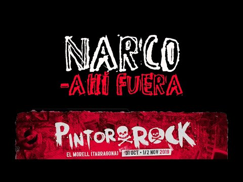 NARCO -Ahi fuera 🔥PINTOR ROCK 2019🔥 #eldirectomasanimal #narco #ahifuera
