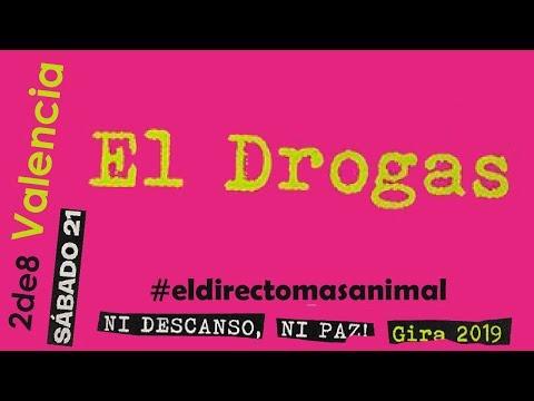 EL DROGAS (Barricada) 🔥PLAZA DE TOROS #VALENCIA 2019🔥 Primera parte #concierto2de8 #eldrogas
