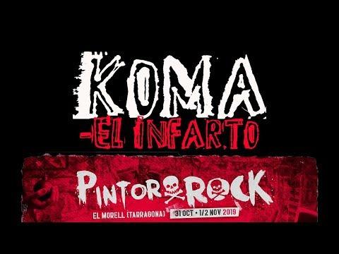KOMA -El infarto 🔥PINTOR ROCK 2019🔥 #eldirectomasanimal #koma #elinfarto