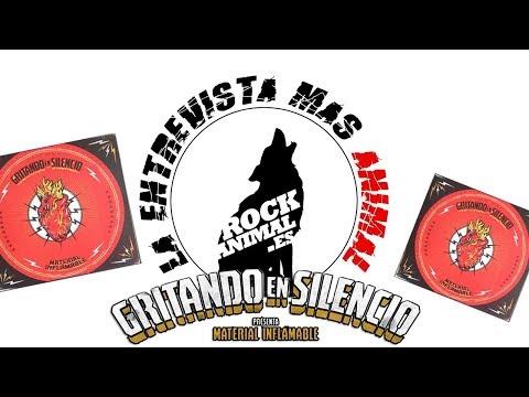 [ROCKANIMAL.es] 🔥GRITANDO EN SILENCIO🔥 en la #entrevista mas animal 2018 #SORTEO DEL CD FIRMADO !!!