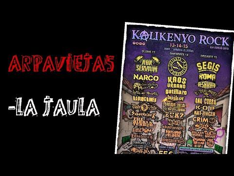 ARPAVIEJAS -la jaula 🔥#KALIKENYO ROCK 2019🔥 El #directo mas animal ! #arpaviejas
