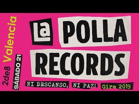 LA POLLA RECORDS 🔥PLAZA TOROS #VALENCIA 2019🔥primera parte #concierto2de8 #giralapolla2019 #lapolla