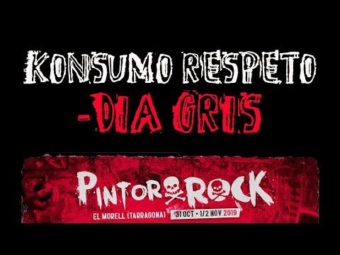 KONSUMORESPETO -Dia gris 🔥PINTOR ROCK 2019🔥 #eldirectomasanimal #konsumorespeto #diagris