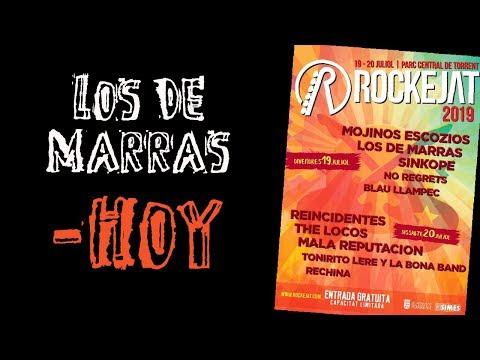LOS DE MARRAS -Hoy 🔥#ROCKEJAT 2019🔥 #eldirectomasanimal #losdemarras #hoy