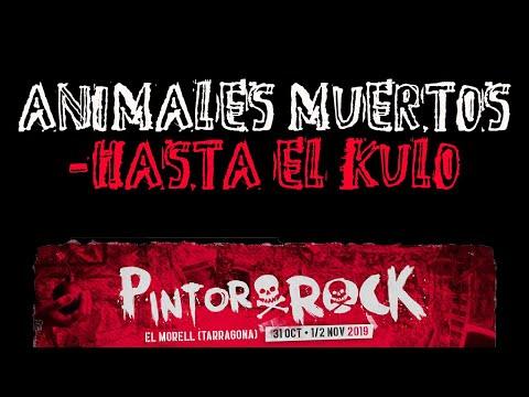 ANIMALES MUERTOS -Hasta el kulo 🔥PINTOR ROCK 2019🔥 #eldirectomasanimal #animalesmuertos