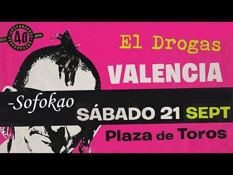EL DROGAS (Barricada) -Sofokao 🔥PLAZA TOROS #VALENCIA 2019🔥 #giralapolla #concierto2de8 #eldrogas