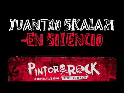 JUANTXO SKALARI -En silencio 🔥PINTOR ROCK 2019🔥 #eldirectomasanimal #juantxoskalari