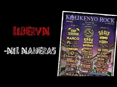 LIBERUM -mis maneras 🔥#KALIKENYO ROCK 2019🔥 El #directo mas animal ! #liberum