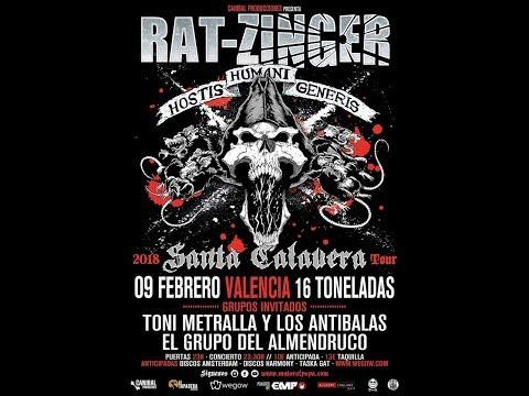 RAT-ZINGER -Larga vida al infierno -Sala 16 toneladas 2018 [el #directo mas animal] 🤘 #rat-zinger