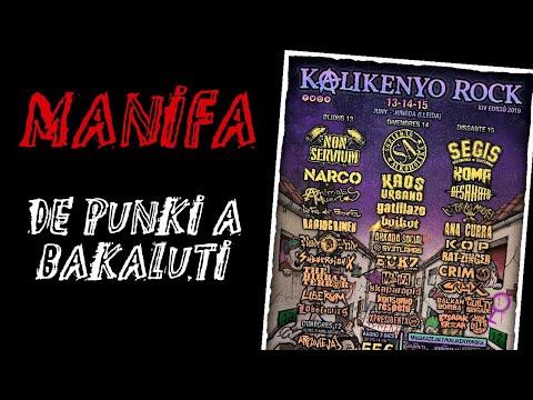 MANIFA -De punki a bakaluti 🔥 #KALIKENYO ROCK 2019 🔥 #eldirectomasanimal #manifa