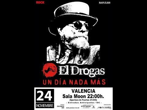 EL DROGAS -Azulejo frio -Sala moon (Valencia 2017) [el #directo mas animal] 🤘 #eldrogas