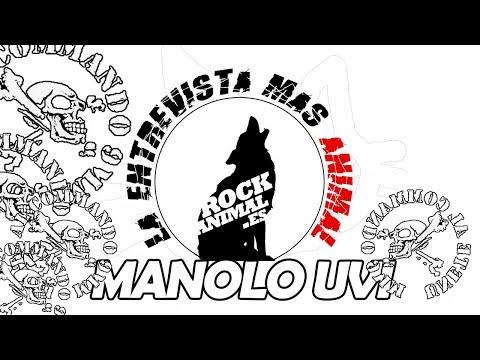 [ROCKANIMAL.es] Manolo Uvi 🔥COMMANDO 9MM🔥 (Valencia 16 toneladas 2017) En la #entrevista mas animal!