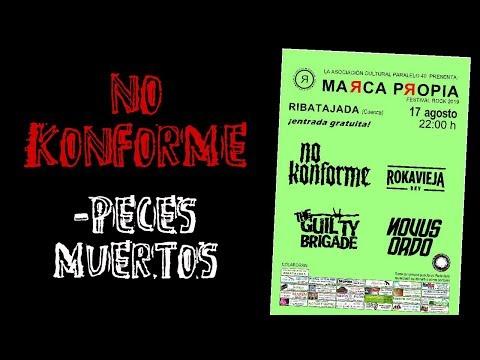 NO KONFORME -Peces muertos 🔥MARCA PROPIA FESTIVAL ROCK 2019🔥 #eldirectomasanimal