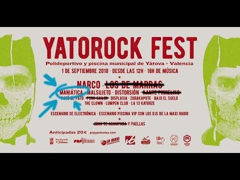 MANIATICA -Venta segura -Yatorock (Valencia) 2018 [el #directo mas animal] Producciones Vikingas 🤘