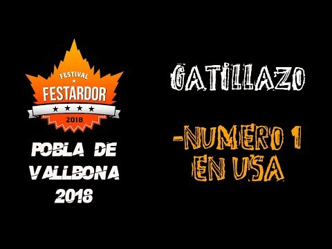 GATILLAZO -nº1 en USA 🔥#FESTARDOR 2018🔥 #eldirectomasanimal #gatillazo