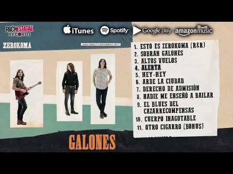 Zerokoma - Galones (Disco Completo Oficial)