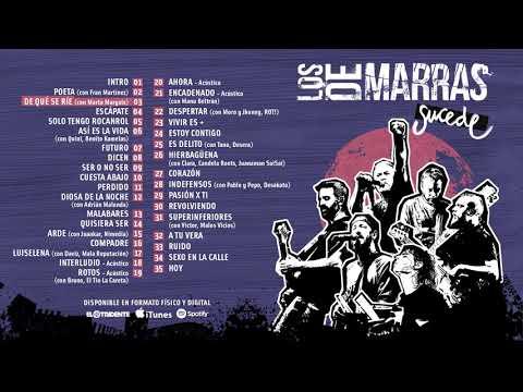 """LOS DE MARRAS """"Sucede"""" (Álbum completo)"""