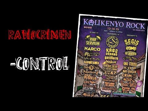 RADIOCRIMEN -Control 🔥#KALIKENYO ROCK 2019🔥 El #directo mas animal ! #radiocrimen