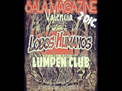 LOBOS HUMANOS -Dolores de cabeza -Magazine club 2017 [el #directo mas animal] 🤘 #loboshumanos