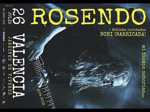 ROSENDO -Flojos de pantalon -Viveros (Valencia) 2018 [el #directo mas animal] 🤘 #rosendo