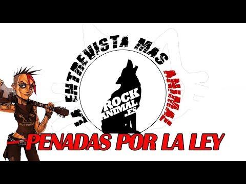 [ROCKANIMAL.es] 🔥PENEDAS POR LA LEY🔥 (Pintor rock 2017) la #entrevista mas animal! #penadasporlaley