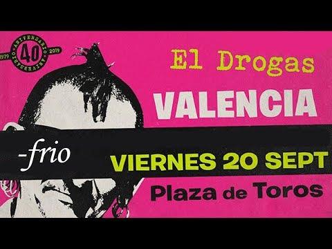 EL DROGAS -Frio 🔥PLAZA DE TOROS #VALENCIA 2019🔥 #giralapolla #concierto1de8 #eldrogas